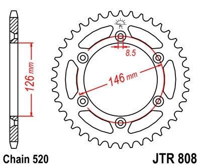JT Sprockets Rozeta JTR 808.47