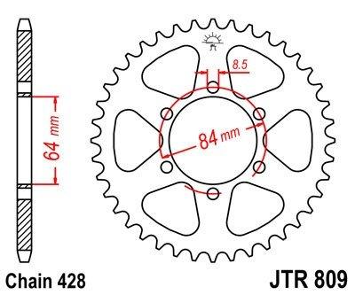 JT Sprockets Rozeta JTR 809.47