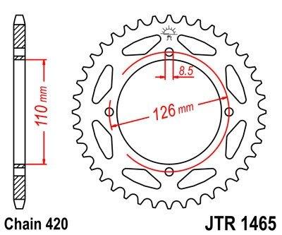 JT Sprockets Rozeta JTR 1465.47