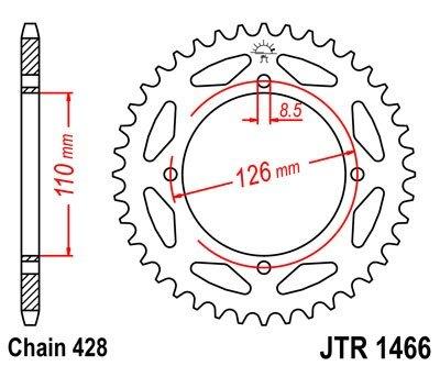 JT Sprockets Rozeta JTR 1466.47