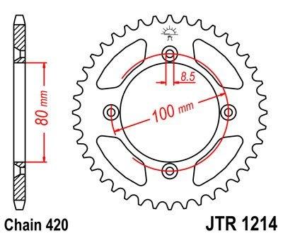 JT Sprockets Rozeta JTR 1214.47