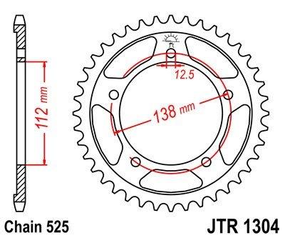 JT Sprockets Rozeta JTR 1304.47