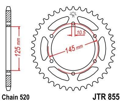 JT Sprockets Rozeta JTR 855.47