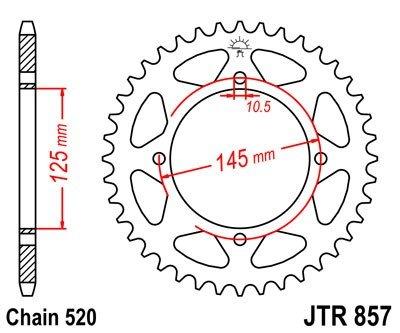 JT Sprockets Rozeta JTR 857.47