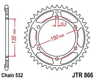JT Sprockets Rozeta JTR 866.47