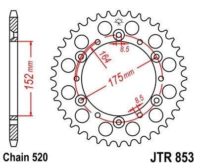 JT Sprockets Rozeta JTR 853.47