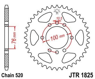 JT Sprockets Rozeta JTR 1825.47