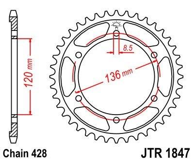 JT Sprockets Rozeta JTR 1847.47