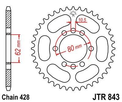 JT Sprockets Rozeta JTR 843.47