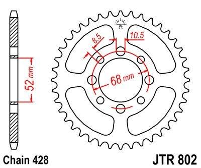 JT Sprockets Rozeta JTR 802.47