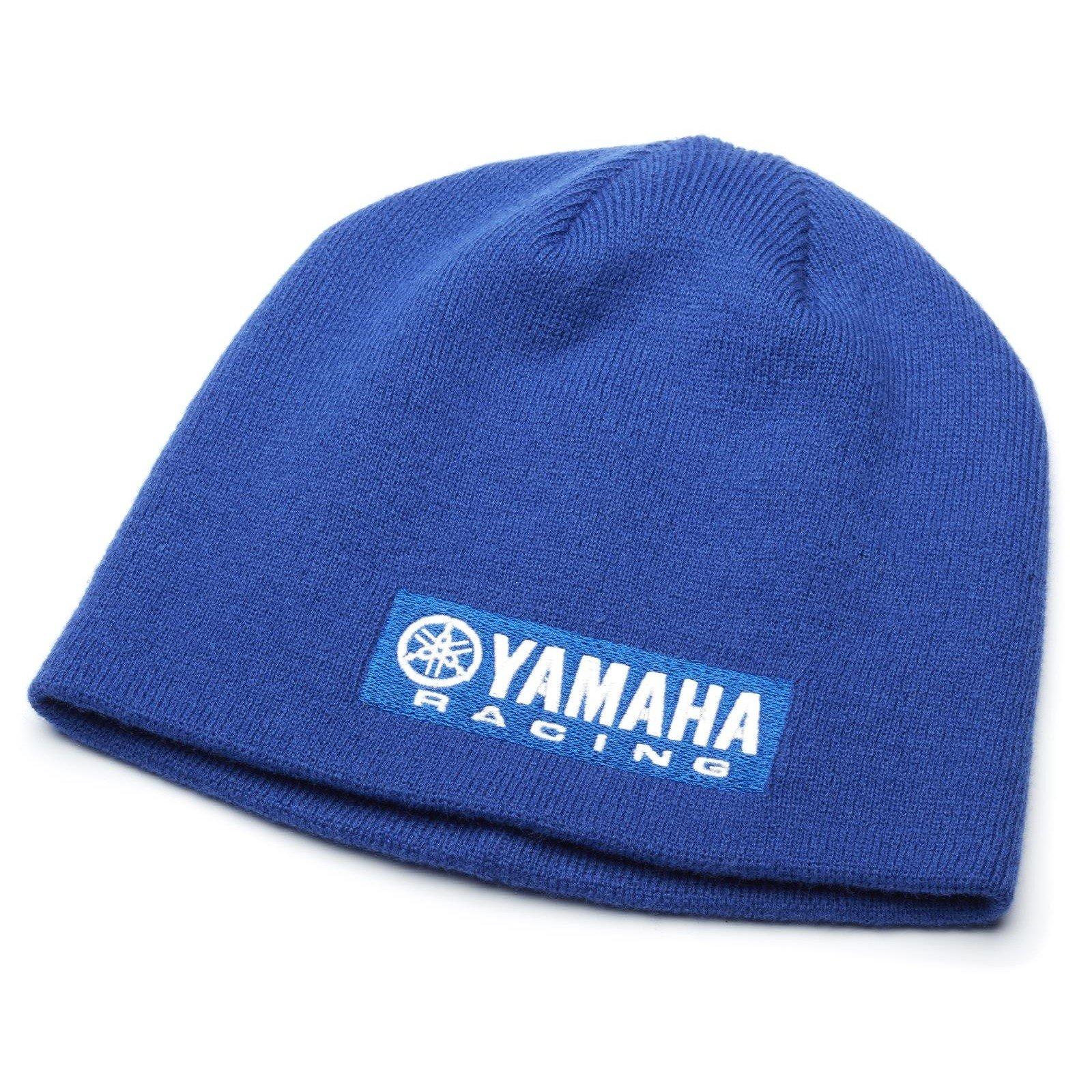 Yamaha Zimní čepice Paddock Racing modrá