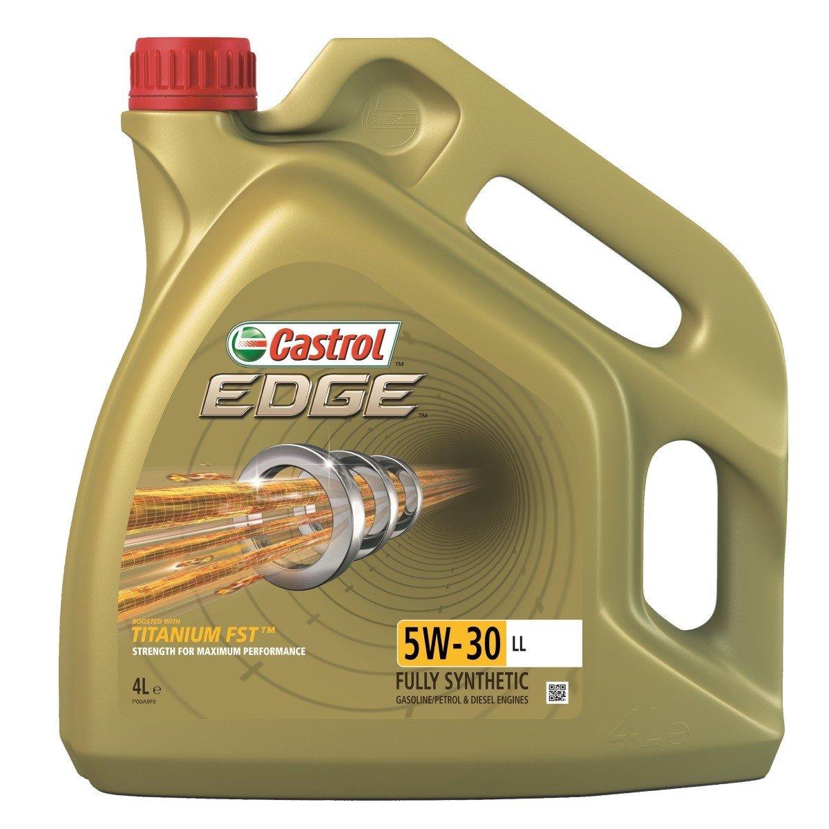 Plně syntetický motorový olej CASTROL Edge 5W30 LL Titanium FST 4L