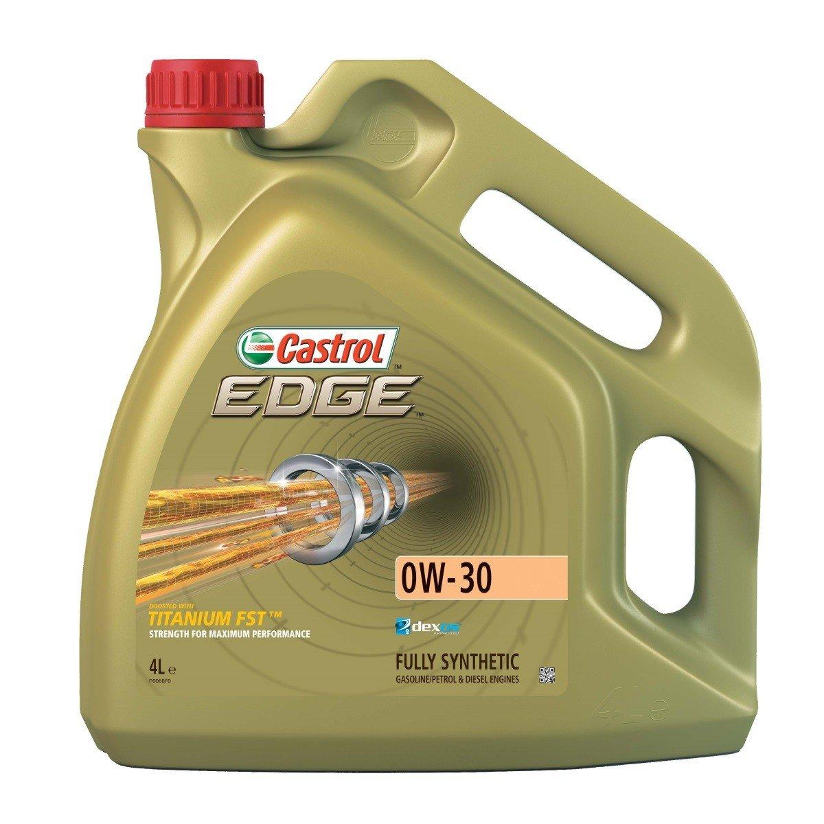 Plně syntetický motorový olej CASTROL Edge 0W30 Titanium FST 4L