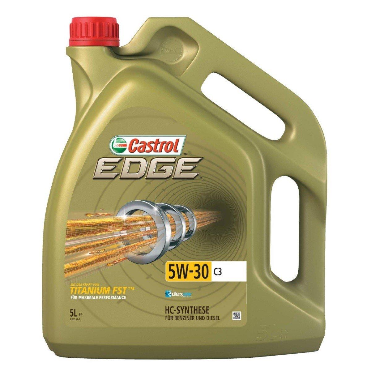 Plně syntetický motorový olej CASTROL Edge 5W30 C3 Titanium FST 5L