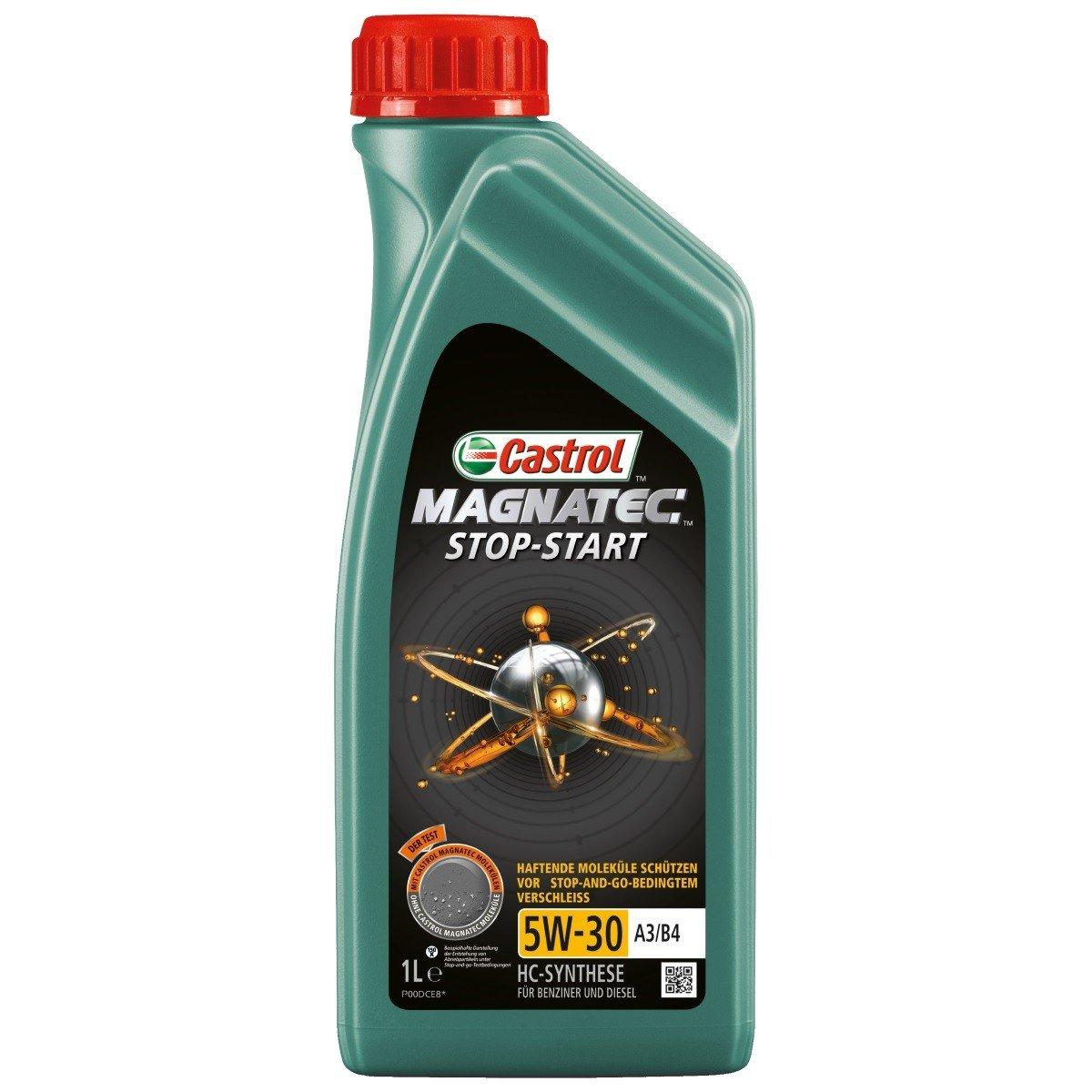 Plně syntetický motorový olej CASTROL Magnatec Stop-Start 5W30 A3/B4 1L