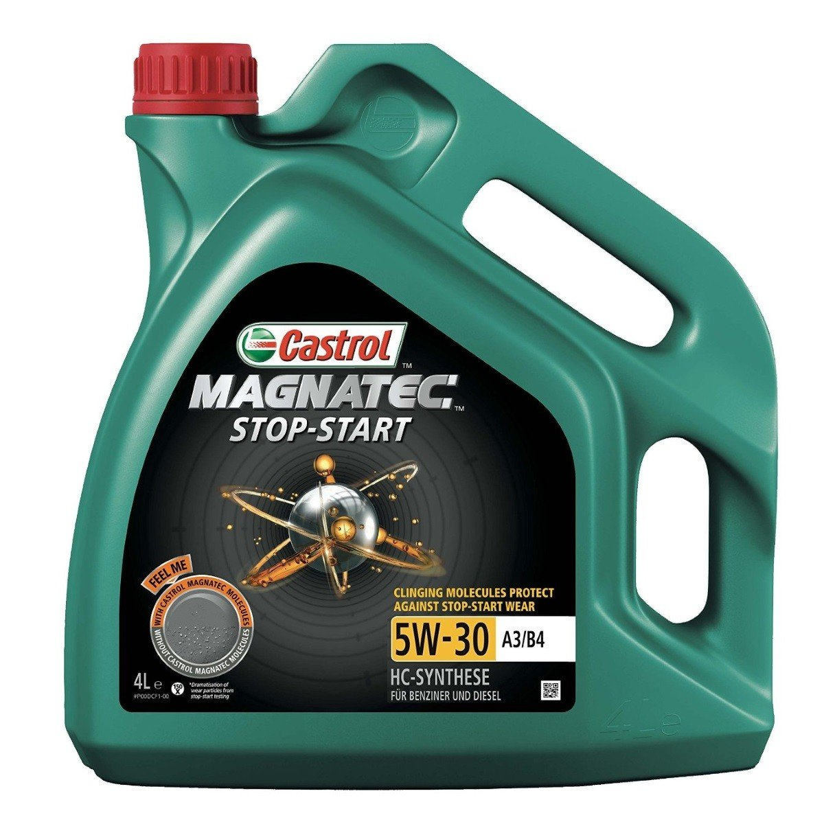 Plně syntetický motorový olej CASTROL Magnatec Stop-Start 5W30 A3/B4 4L