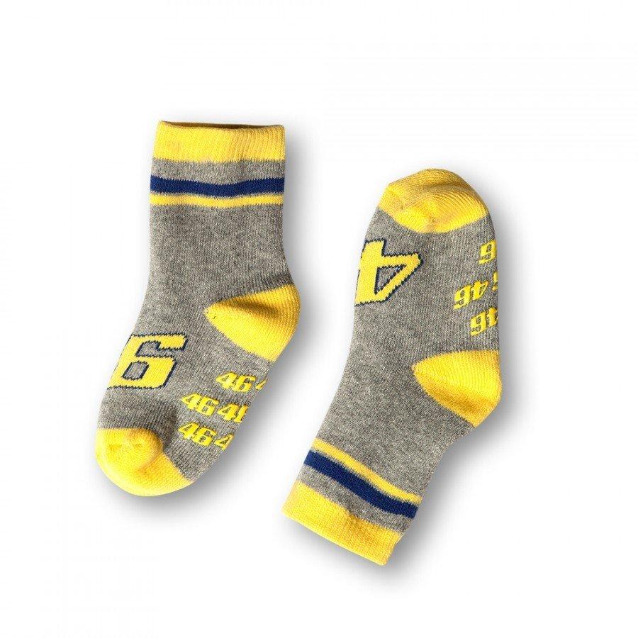Dětské ponožky Valentino Rossi VR46 2016 (žluté)