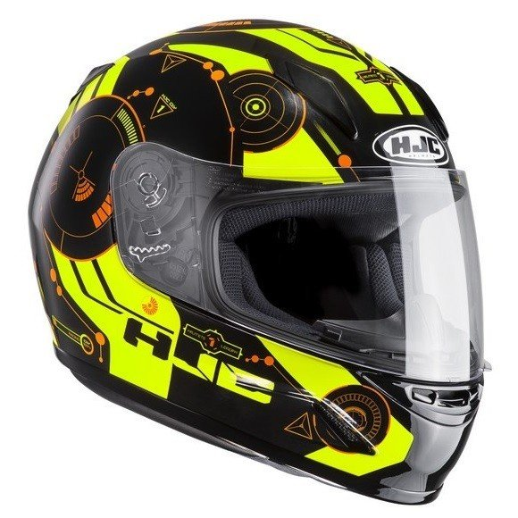 Dětská motocyklová přilba HJC CL-Y Simitic MC-4H JS (50-51)