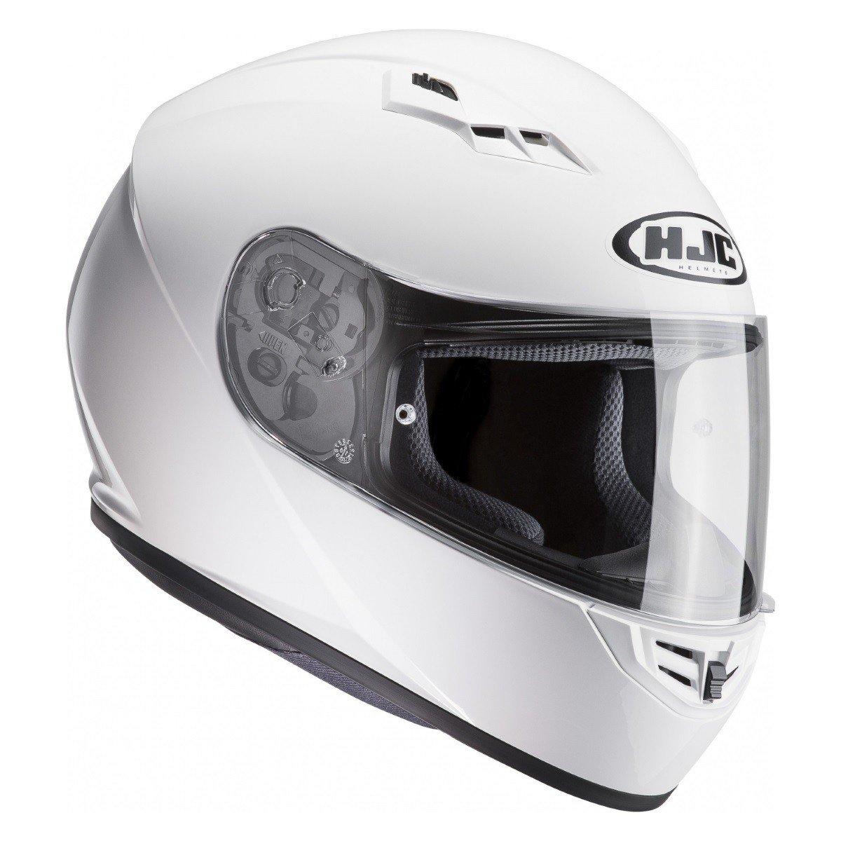Integrální motocyklová přilba HJC CS15 Solid (bílá) XS (53/54)