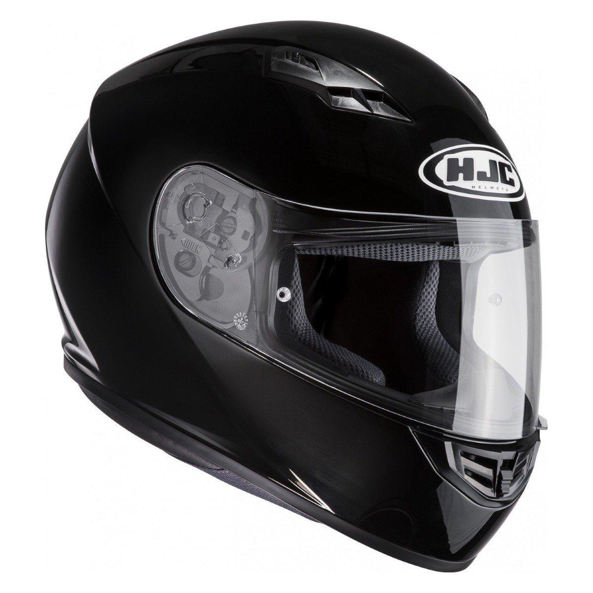 Integrální motocyklová přilba HJC CS15 Solid (černá) XS (53/54)
