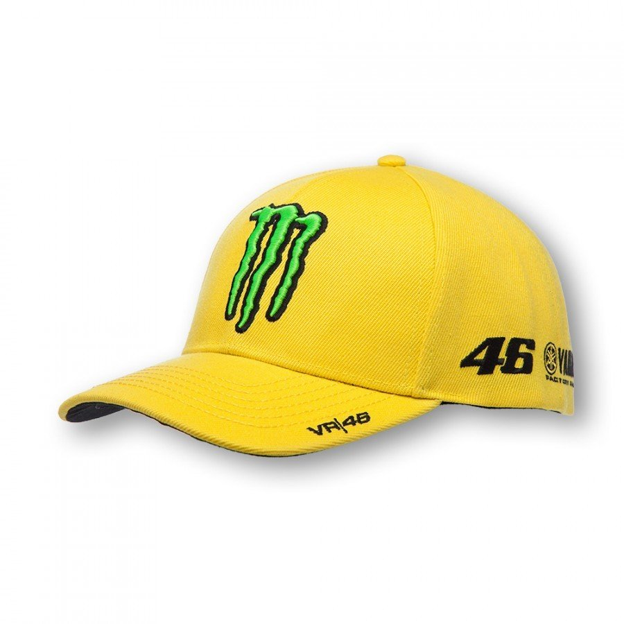 Sportovní čepice Valentino Rossi VR46 Monster Sponsor 2016 (žlutá)