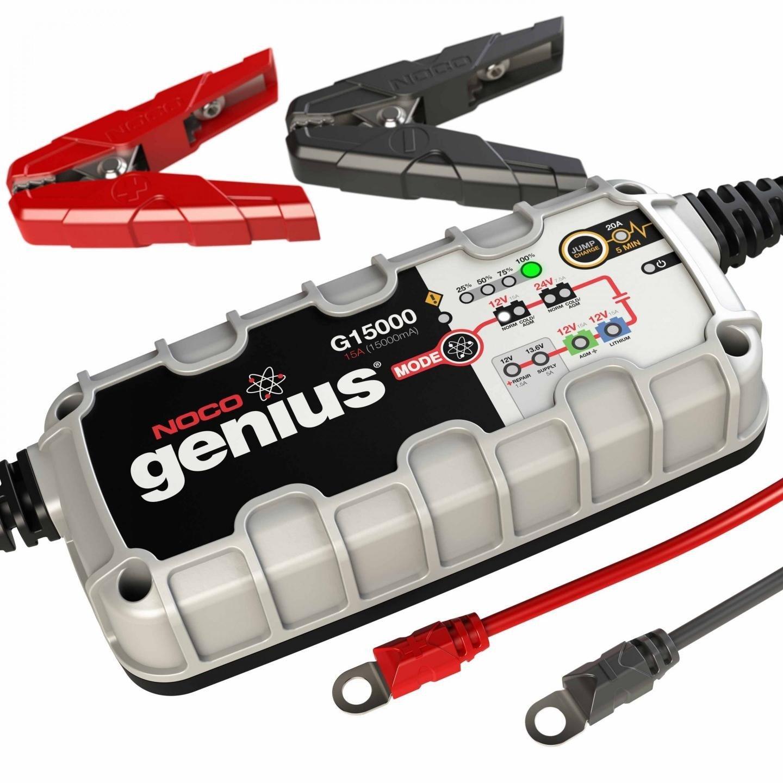 Multifunkční dobíječka/nabíječka baterií NOCO Genius G15000 (12/24V - 15A/7,5A) Can-bus/Lithium univerzální