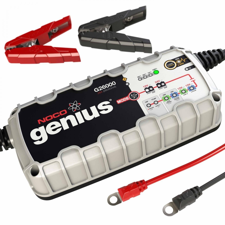Multifunkční dobíječka/nabíječka baterií NOCO Genius G26000 (12/24V - 26A/13A) Can-bus/Lithium univerzální