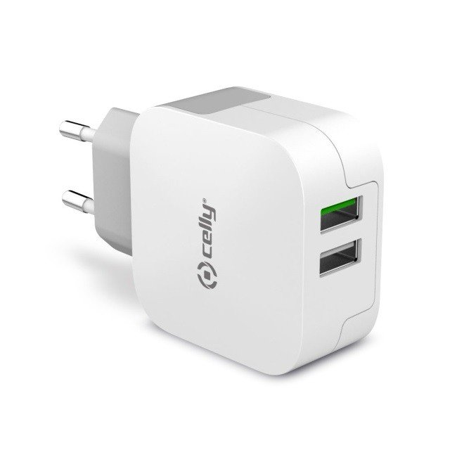 Celly Travel Charger TC2 USB Turbo