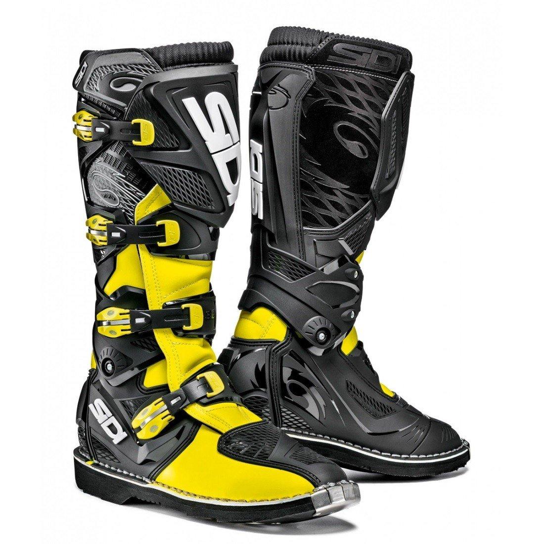 Pánské motokrosové boty SIDI X3 (neonově žluto/černé) 42