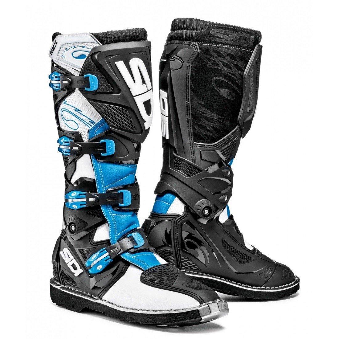 Pánské motokrosové boty SIDI X3 (bílá/světle modrá/černá) 42