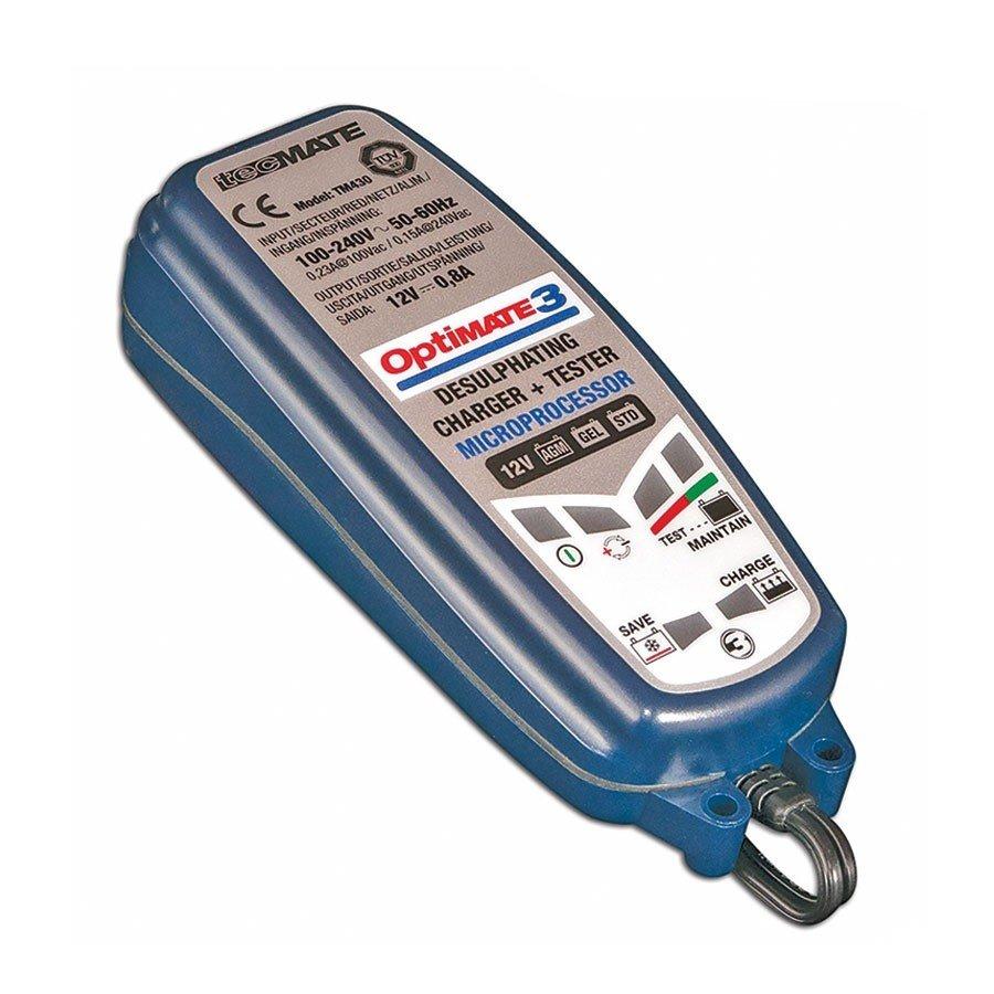 Plně automatická nabíječka baterií TECMATE OptiMate3 (12V/0,8A)