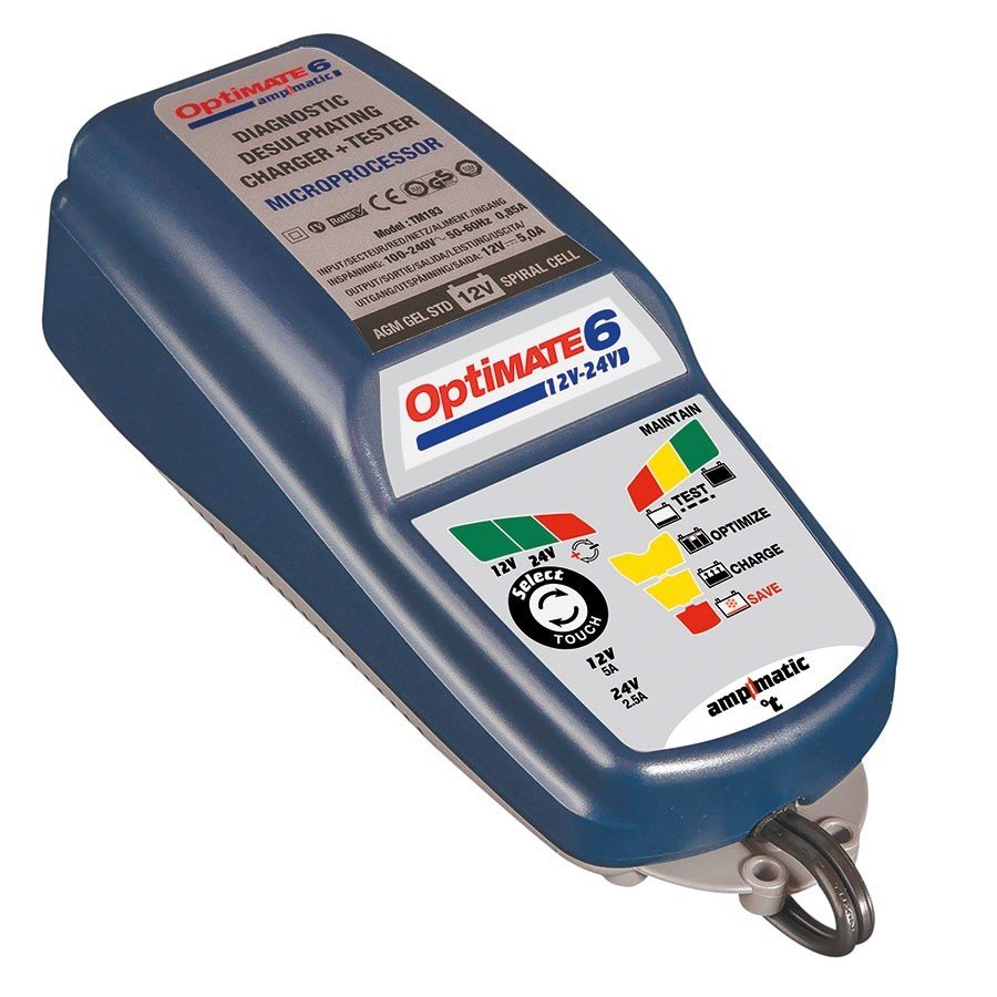 TECMATE OptiMate 6 12-24V (12V/200A-24V/100A)