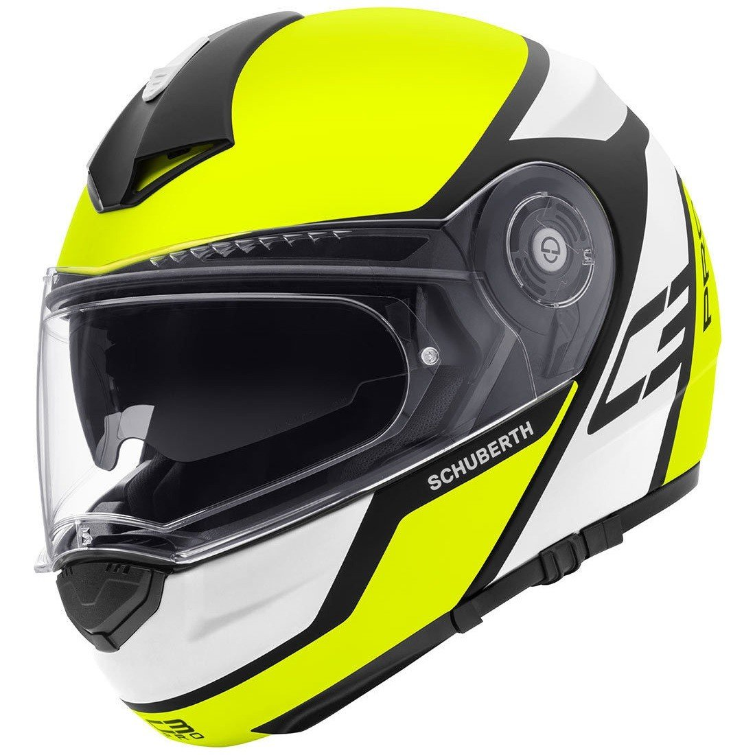 Schuberth C3 Pro Echo yellow XL (60/61)