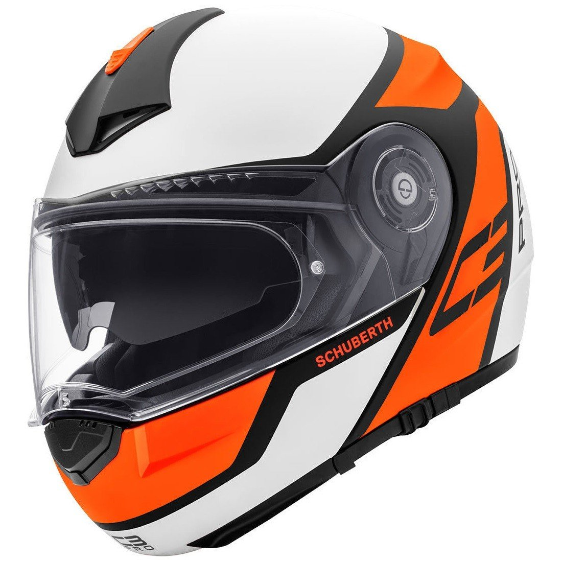 Schuberth C3 Pro Echo orange M (56/57)