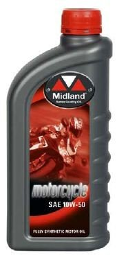 Midland oil Motorcycle 10W50 Racing 1L