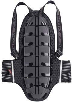 Páteřový chránič ZANDONA Shield x8 Černý