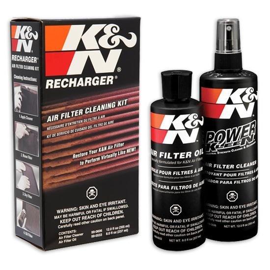 Čistící sada na vzduchové filtry K&N Filters (olej + čistič)