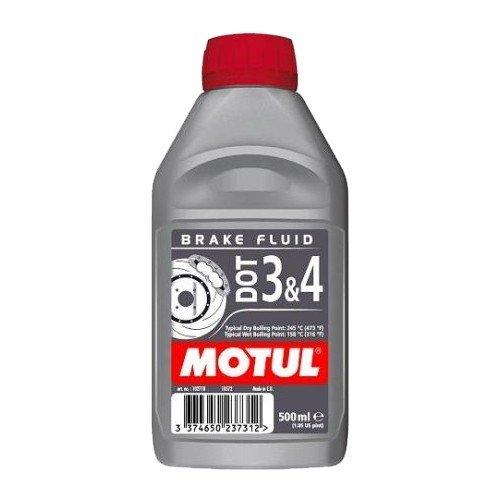 Motul DOT 3&4 Brake Fluid, 500 ml