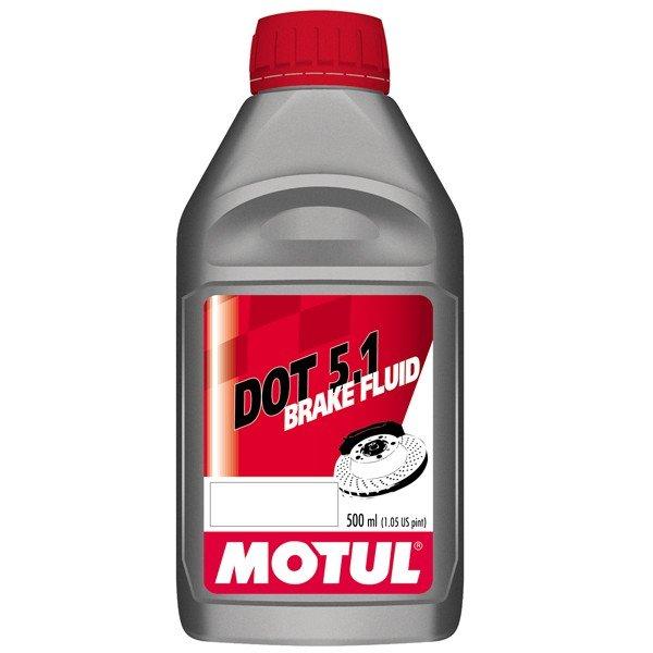 Motul DOT 5.1 Brake Fluid, 500 ml