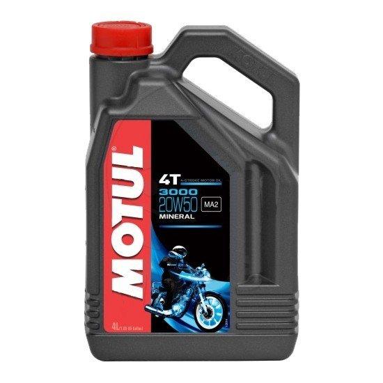Minerální motorový olej MOTUL 3000 4T 20W50 4L