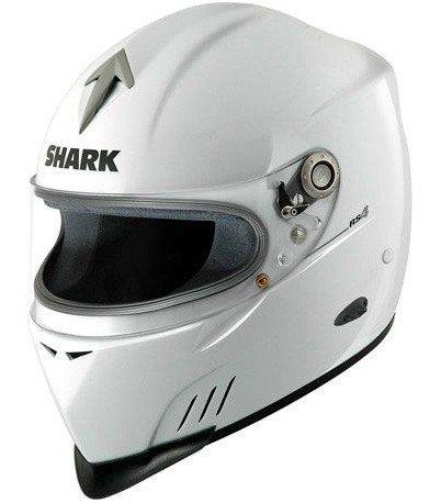 SHARK RS 4 Pro Nomex WHT - automobilová přilba L (59/60)