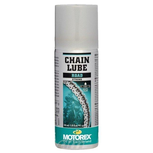 Olej na řetěz ve spreji Motorex Chainlube Road Strong 56ml univerzální