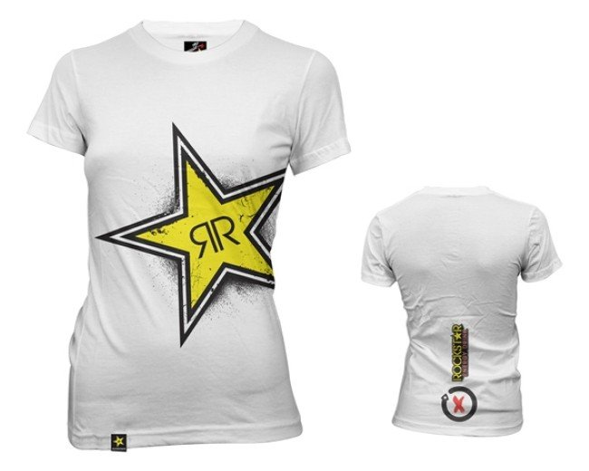 Jorge lorenzo Triko Woman Rockstar El Campeon (bílé), vel. XL