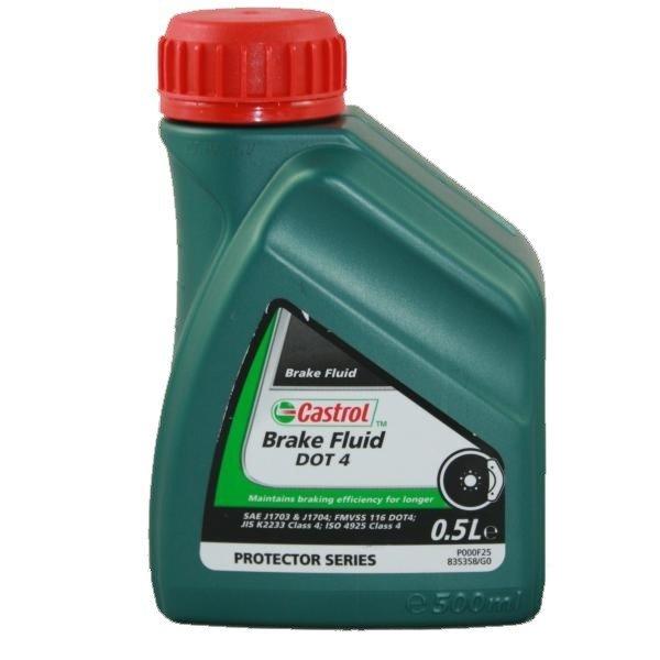 Castrol Brake Fluid DOT4, 500 ml Brake Fluid DOT 4 0,5L