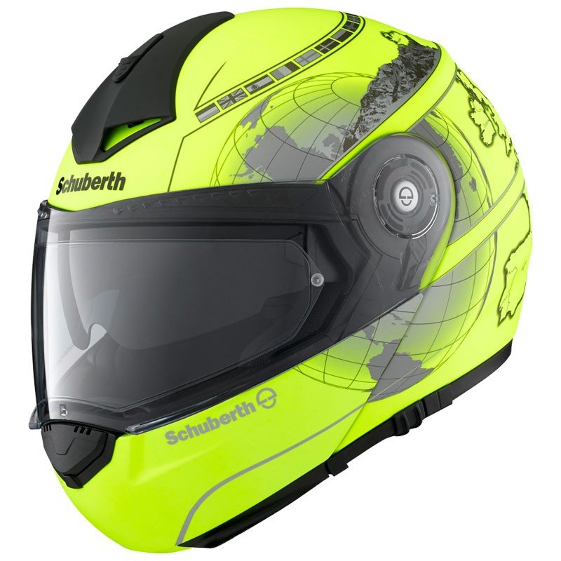 Schuberth C3 Pro Europe Fluo Yellow 3XL (64/65)