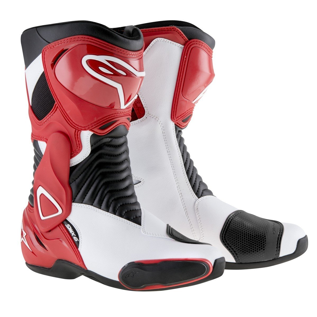 Alpinestars SMX-6 White/Red 44