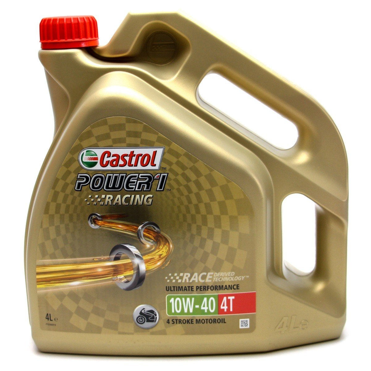 Castrol Power 1 Racing 4T 10W-40, 4 l