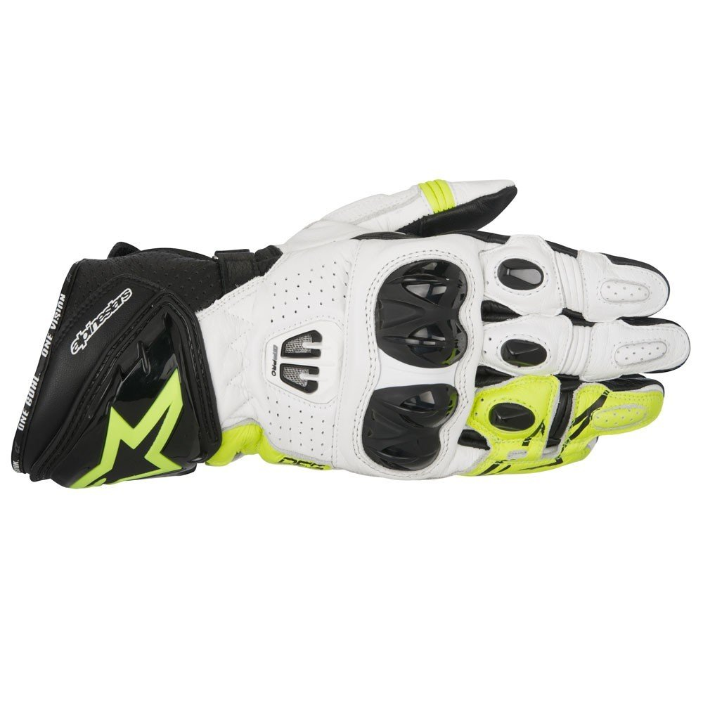 Alpinestars GP PRO R2 k/White/Yellow Fluo S