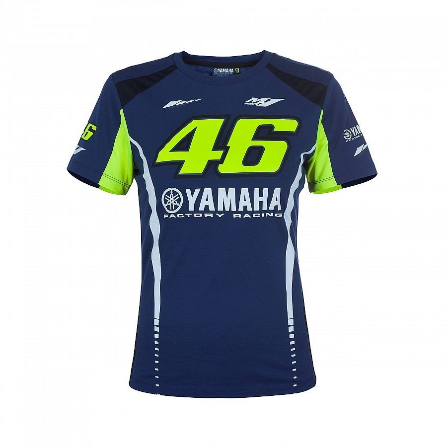 Vr46 Dámské triko Yamaha XS
