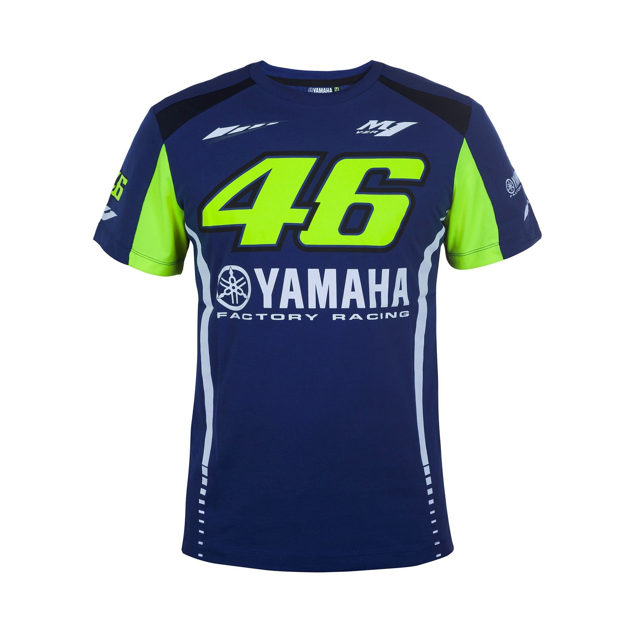 Vr46 Pánské triko Yamaha M